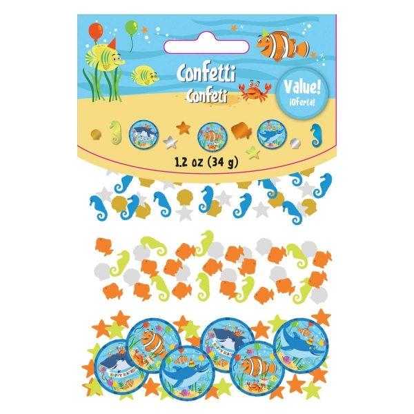 Ocean Buddies Party Table Confetti 34g