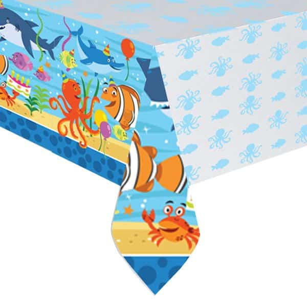Ocean Buddies Party Plastic Tablecover
