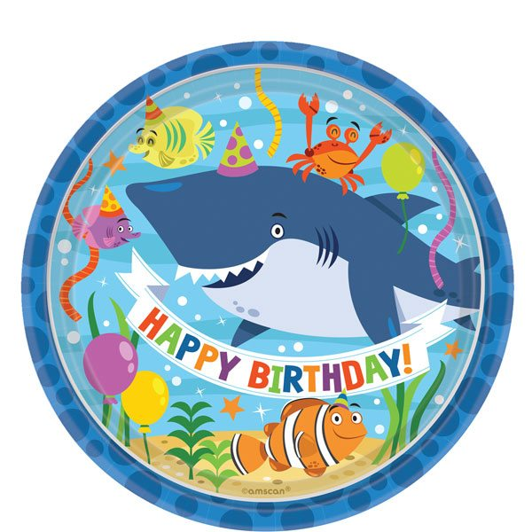 Ocean Buddies Party Paper Plates