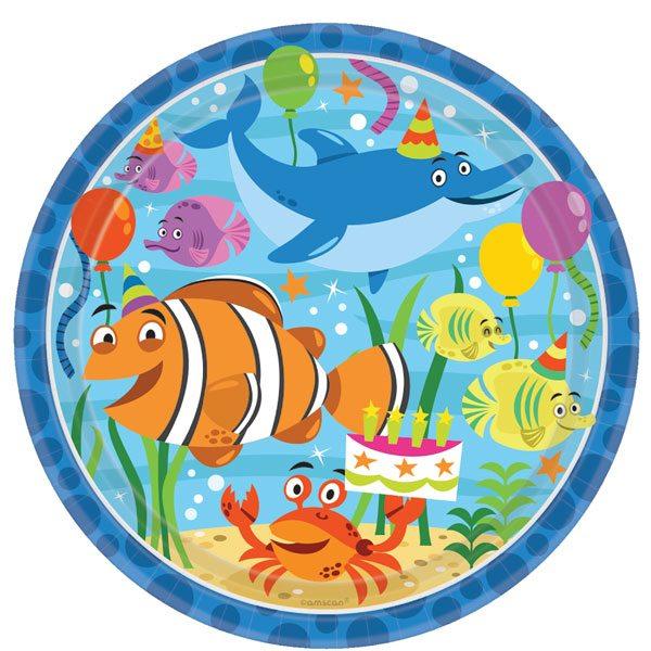 Ocean Buddies Plates