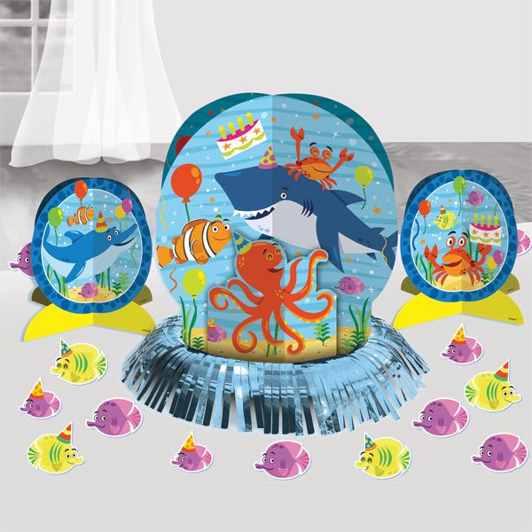 Ocean Buddies Party Table Decorating Kit