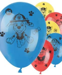 Paw Patrol Party Printed Latex Balloons