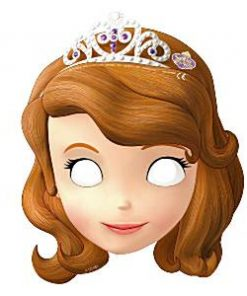 Sofia the First Party Bag Fillers - Masks