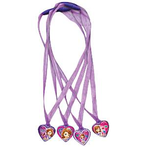 Sofia the First Party Bag Fillers - Necklaces