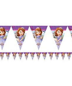 Sofia the First Party Plastic Bunting