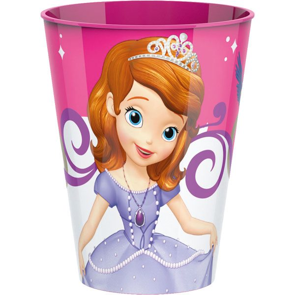 Sofia the First Party Plastic Tumbler
