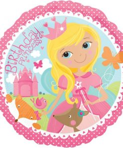 Woodland Princess Party Foil Balloon