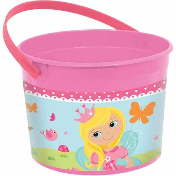 Woodland Princess Party Bag Fillers - Plastic Favour Bucket
