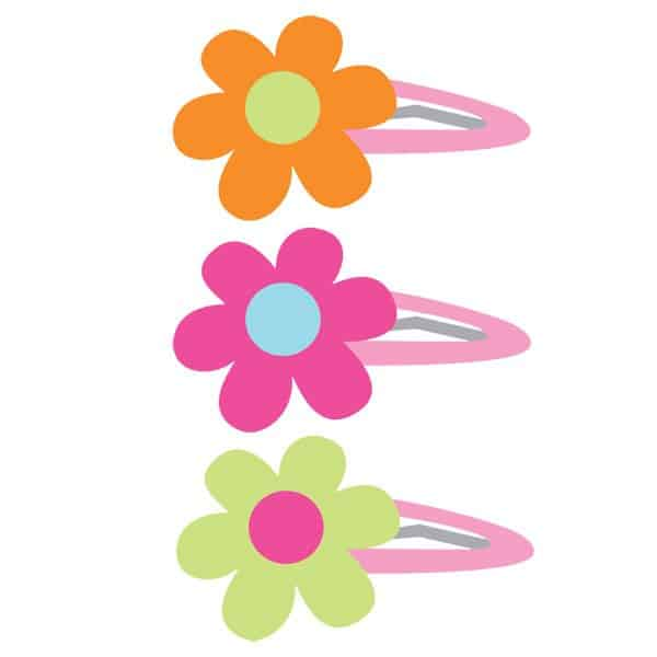 Woodland Princess Party Bag Fillers - Hair Clips