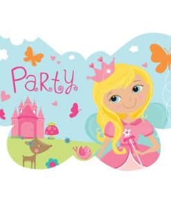 Woodland Princess Party Invitations & Envelopes