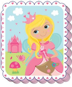 Woodland Princess Party Bag Fillers - Notepad