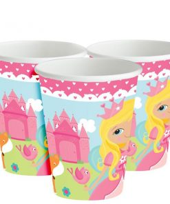 Woodland Princess Party Paper Cups
