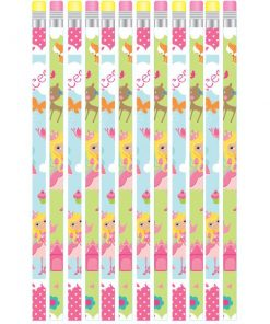 Woodland Princess Party Bag Fillers - Pencils