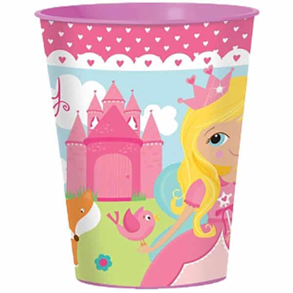 Woodland Princess Party Bag Fillers - Plastic Favour Cup