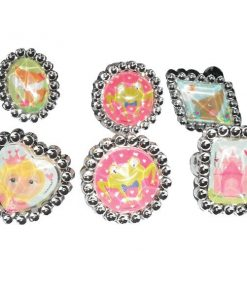 Woodland Princess Party Bag Fillers - Rings
