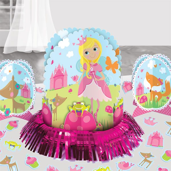 Woodland Princess Party Table Decorating Kit