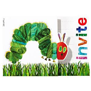 Hungry Caterpillar Party Invites Cards (Pk 10)