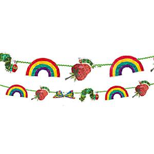 Hungry Caterpillar Party Paper Garland - 3m