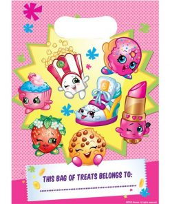 Shopkins Party Plastic Loot Bags