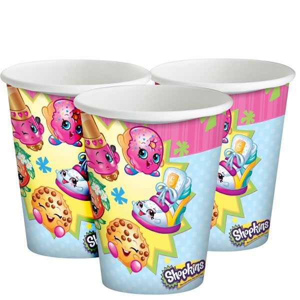 Shopkins Party Paper Cups