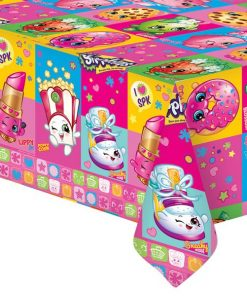 Shopkins Party Plastic Tablecover
