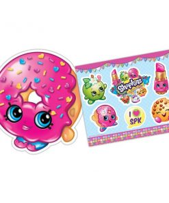 Shopkins Party Sticker & Mask