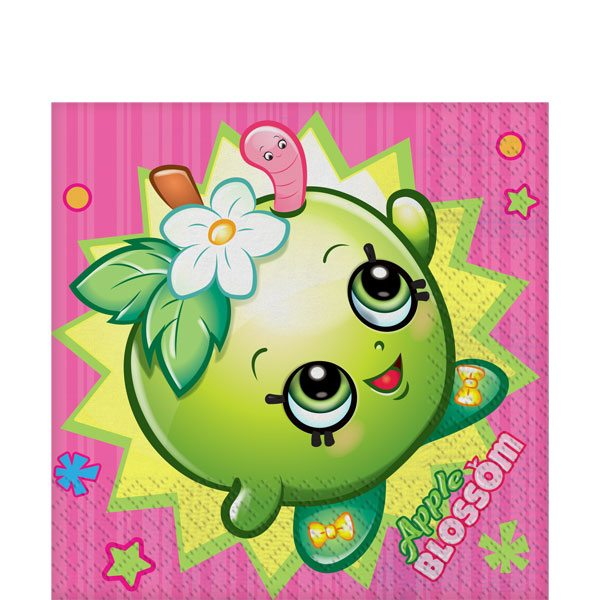 Shopkins Party Paper Napkins