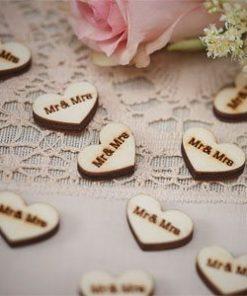 A Vintage Affair Wedding 'Mr and Mrs' Confetti