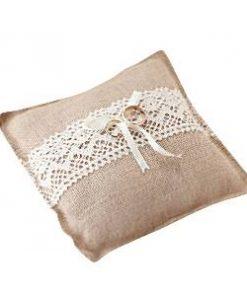 A Vintage Affair Wedding Ring Cushion