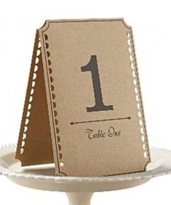 A Vintage Affair Wedding Table Numbers