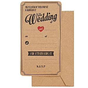 A Vintage Affair Wedding Invitations