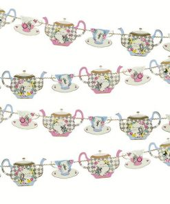 Alice in Wonderland Themed Party Truly Alice Tea Party Bunting
