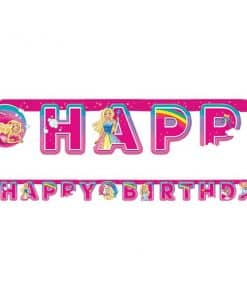 Barbie Dreamtopia Party Happy Birthday Letter Banner