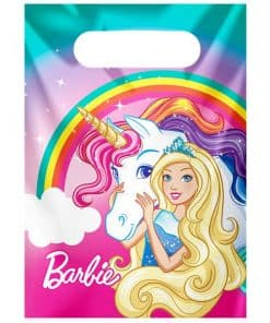 Barbie Dreamtopia Party Plastic Loot Bags
