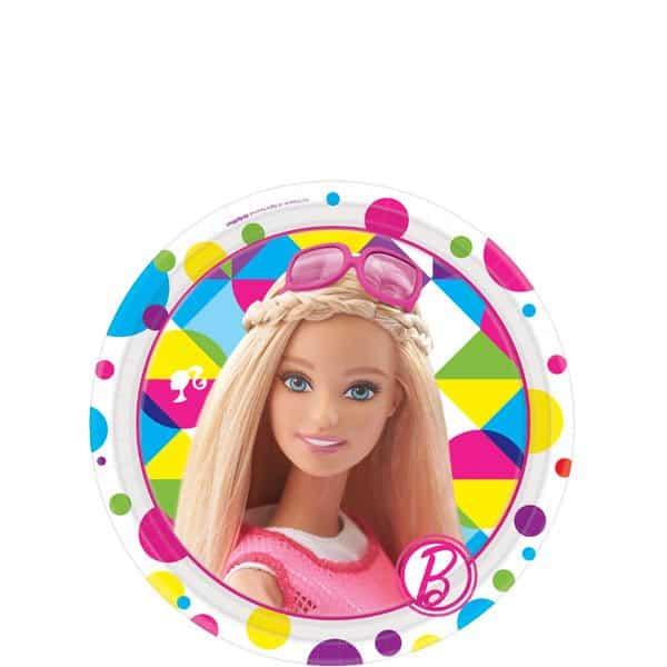 Barbie Party Paper Dessert Plates