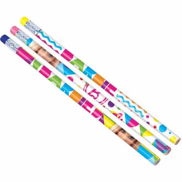 Barbie Party Party Bag Fillers - Pencils