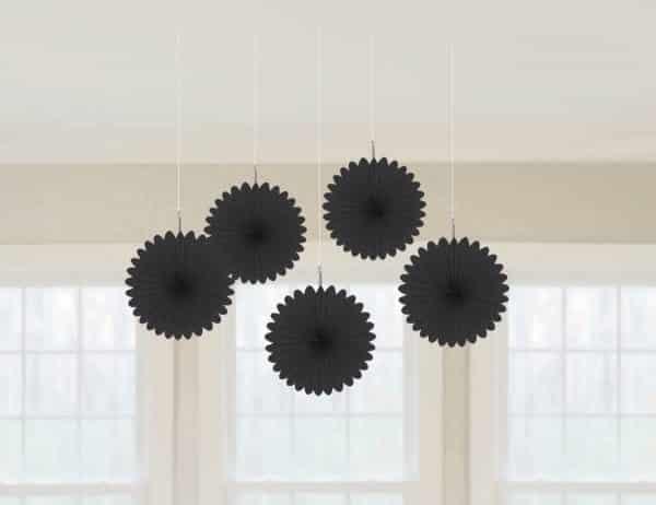 Black Paper Fans