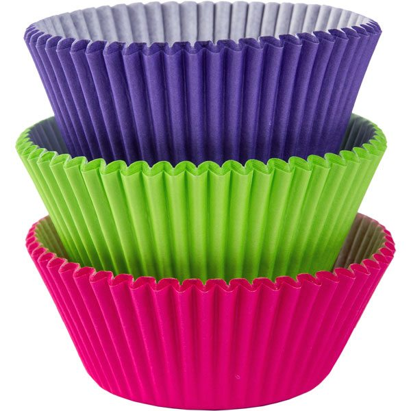 Cool Rainbow Cupcake Cases