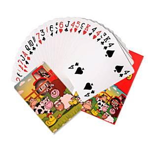 Farm Party Bag Fillers - Mini Playing Cards