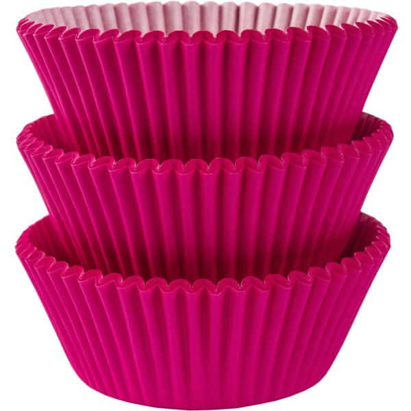 Hot Pink Cupcake Cases