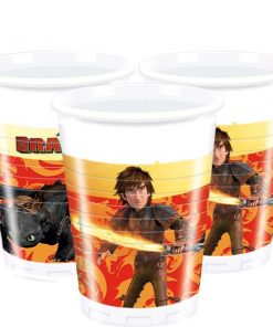 How To Train Your Dragon Party Plastic Cups