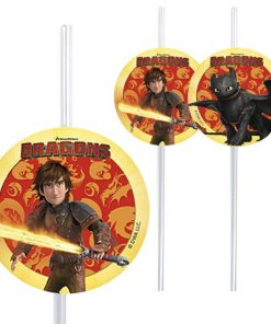 How To Train Your Dragon Party Drinking Straws