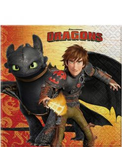 How To Train Your Dragon Party Paper Napkins