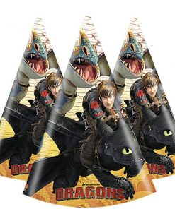 How To Train Your Dragon Party Cone Hats