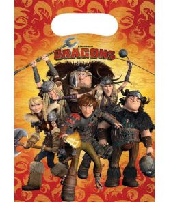 How To Train Your Dragon Party Plastic Loot Bags