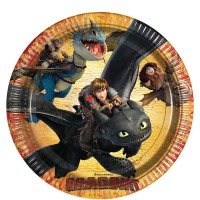 How To Train Your Dragon Party Paper Plates