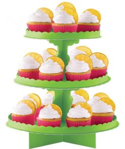 Kiwi Lime Green Cupcake Stand