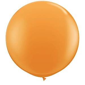 Orange Giant Latex Balloons