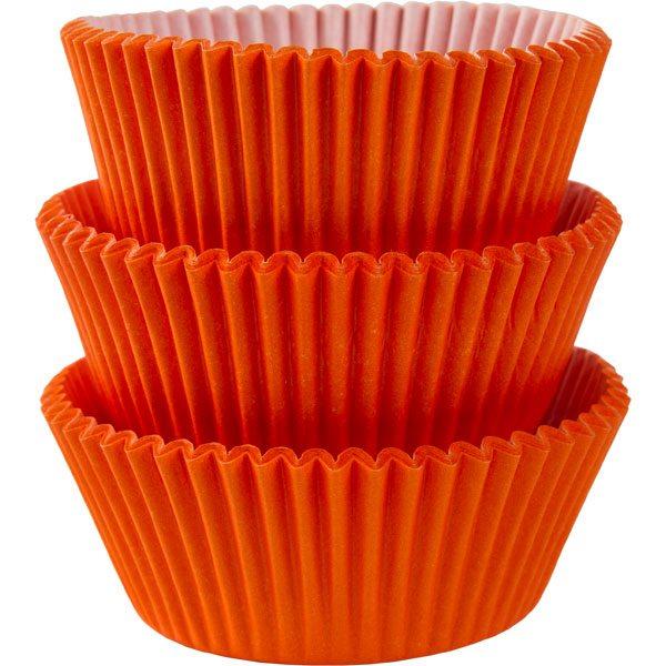 Orange Cupcake Cases