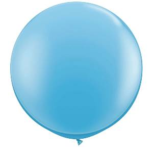Pale Blue Giant Latex Balloons